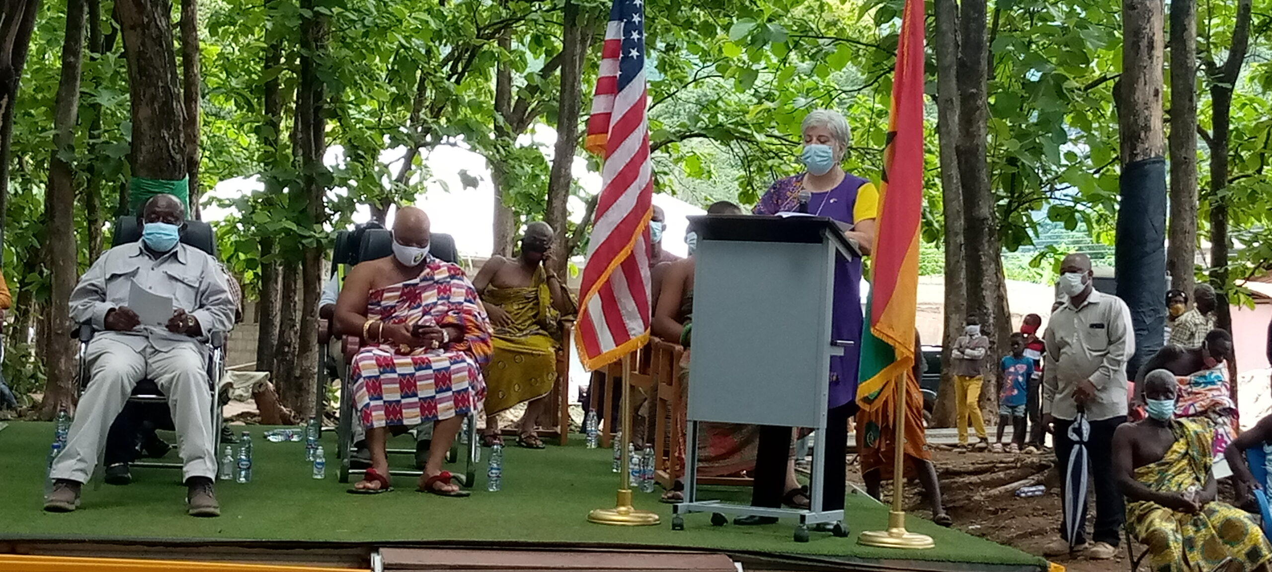 Earth Day 2021 – US Ambassador supports Otumfuo to protect Lake Bosomtwe